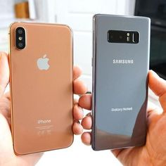Apple iPhone X vs Samsung Galaxy Note 8 Free Iphone, Iphone 7, Iphone Cases, Newest Cell Phones, New Phones, Smart Phones, Cell Cases, Macbook Pro 13 Pouces, Apple Iphone