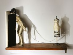 Constant Threat of Eviction  (The Bride of Frankenstein)                   2007                   Mixed media, Daniel Mcdonald