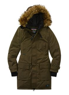 TNA Bancroft Warmest Parka | 27 Cool Winter Coats That Will Actually Keep You Warm