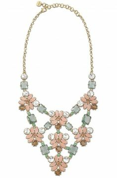 Stella & Dot Fleurette Statement Necklace