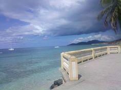 The malecon, Esperanza, Vieques