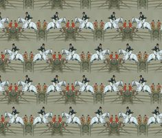 Vanity Fair's Hunter Captain fabric by ragan on Spoonflower - custom fabric