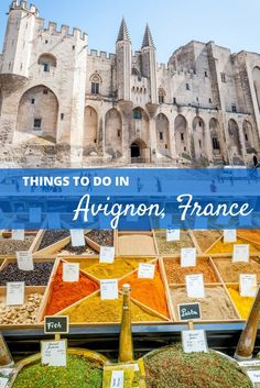 There are so many great things to do in Avignon, France. From visiting the market to a tour through the Palace of the Popes, this Provence town will not disappoint | Seven Ways to Experience the Appeal of Avignon