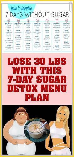 Lose Weight Up To 30 lbs With This Sugar Detox Menu Plan – Herbal Medicine Book Bodybuilder, Herbal Remedies, Natural Remedies, Italian Green Beans, 7 Day Sugar Detox, Lose Weight, Weight Loss, Detox Your Body, Stuffed Sweet Peppers