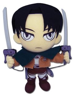Levi Ackerman Plush omg I bought this at Comic-con!