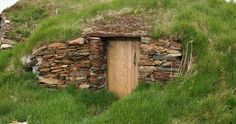 """root cellar - This is my """"dream tornado shelter"""" what friends want to pitch in and come help me build this over the weekend? According to this pin that's all the time it would take! haha! Pinterest you never let me down! A DIY tornado shelter, awesome!"""