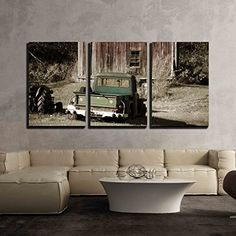 wall26 - 3 Piece Canvas Wall Art - Old Truck in Front of ... https://www.amazon.com/dp/B0716D2WRM/ref=cm_sw_r_pi_dp_x_qO5hAb3HT8KDA