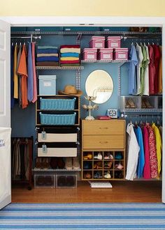 25 Beautifully Organized Closets That Will Inspire You