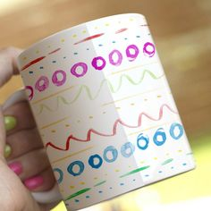 Easter egg mug by Onemugaday va Dawanda