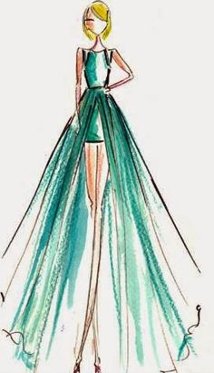 Diary Sketches from Grammy Award Night 2015 | Fashion Blog by Apparel Search