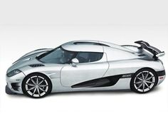 Koenigsegg Trevita: This ridiculously expensive car will set you back 2.21million USD. But it will give you something to discuss with Jay Leno if you bump into him - he reportedly owns one.
