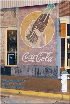 Coca-Cola Ghost sign