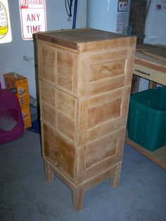 Old library file cabinet (Dewey decimal system card holder) after ...
