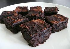 Coconut flour brownies, via Rene Mead, via paleobrownies.com