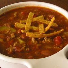 Terrific Turkey Chili Allrecipes.com