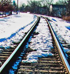 Freight Rails Thru The Snow|Love's Photo Album