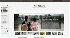 Aggregate WordPress Theme - $39