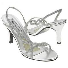 Touch Ups - silver heels