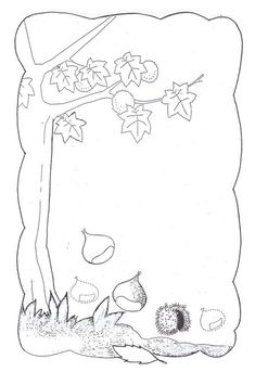 Fall Arts And Crafts, Autumn Activities For Kids, Autumn Art, Activity Days, Coloring Pages, Kindergarten, Bullet Journal, Tapestry, Embroidery