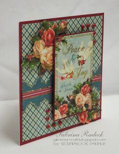 Aspiring to Creativity: Christmas Cards - Graphic 45 Club