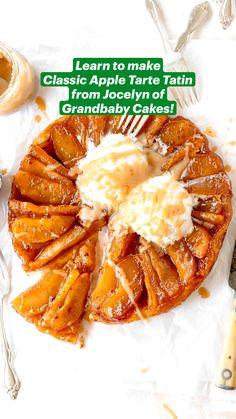 Easy No Bake Desserts, Apple Desserts, Apple Recipes, Fall Recipes, Delicious Desserts, Dessert Recipes, Dinner Recipes, Yummy Food, Strawberry Desserts