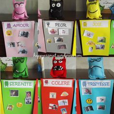 Discover recipes, home ideas, style inspiration and other ideas to try. Emotions Preschool, Emotions Activities, Preschool Literacy, Happy Emotions, Feelings And Emotions, Printable Activities For Kids, Book Activities, Monster Activities, First Year Teaching