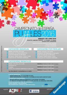 Cartel oficial del Cameonato de España de Puzzles 2016