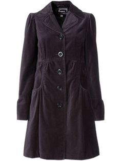 I think I've already pinned this in another colour - I really do love it! Grey velvet coat, Monsoon £80.