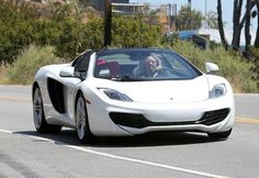 Cars & Life | Cars Fashion Lifestyle Blog: What Car Lady Gaga Drives? McLaren MP4-12C Spider