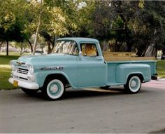 Powder Blue 59 Apache - They don't make em like this anymore!