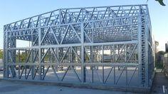 hala Focsani pe structura metalica