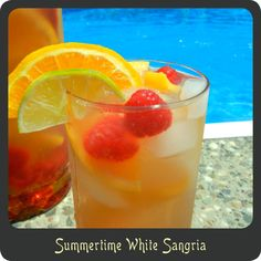 Recipe—Summertime White Sangria