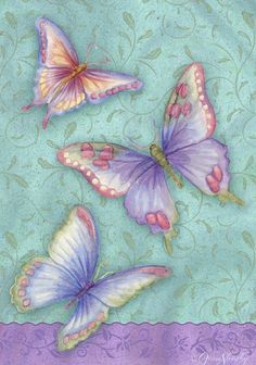 This wallpaper is shared to you via ZEDGE Dragonfly Art, Butterfly Flowers, Beautiful Butterflies, Art Papillon, Butterfly Pictures, Butterfly Wallpaper, Decoupage Paper, Vintage Images, Pretty Pictures