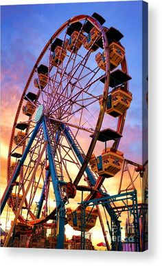 Ferris Wheel Dream Acrylic Print by Olivier Le Queinec. All acrylic prints are professionally printed, packaged, and shipped within 3 - 4 business days and delivered ready-to-hang on your wall. Roller Coaster Theme, Scary Roller Coasters, Farris Wheel, Rustic Wedding Backdrops, Amusement Park Rides, Draw On Photos, Fiction, Summer Bucket Lists, Wattpad