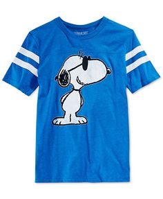 Jem Snoopy Check Me Out T-Shirt @Macys