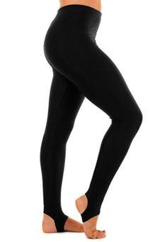Girls Crazy Chick Shiny Lycra Stirrup Leggings Kids Gymnastics Nylon Lycra Pant