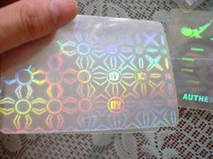 Holographic Effect Plastic Business Cards