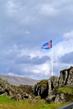 The national flag of #Iceland.