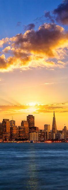 San Francisco sunset, California