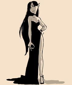 marceline the vampire queen Adventure Time Marceline, Adventure Time Anime, Adventure Time Princesses, Adventure Time Characters, Princess Adventure, Pretty Art, Cute Art, Marceline And Princess Bubblegum, Poses References