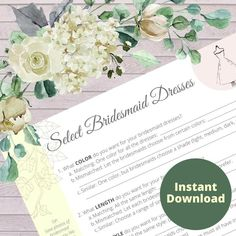 ♥ Planning a wedding soon? Wondering how to make sure none of the wedding attire details get forgotten? Use these helpful worksheets to guide you and help you get organized for all the decisions you need to make while planning your big day.  Perfect to print for use in your personal physical wedding planner. Wedding Planner Notebook, Wedding Planning Binder, Wedding Planners, Notebook Binder, Wedding Ceremony, Wedding Venues, Diy Wedding, Wedding Attire, Wedding Tips