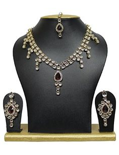 VVS Jewellers Red Stone Kundan Ethnic Indian Wedding Gold... https://www.amazon.com/dp/B0747JBCY6/ref=cm_sw_r_pi_dp_U_x_QWoJAb1C8KT61
