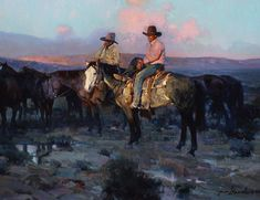 Westerns | James E. Reynolds | Cowboy Artist