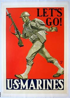 WW1 Classic Wartime Poster Art