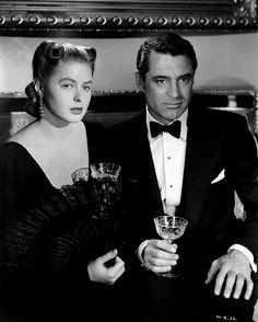 Ingrid Bergman and Cary Grant, Notorious (1946)