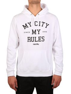 My City Hooded [white] *** IRIEDAILY SPRING SUMMER COLLECTION 2016 – MY CITY MY RULES – OUT NOW: https://www.iriedaily.de/blog/iriedaily-spring-summer-collection-2016-my-city-my-rules-out-now/