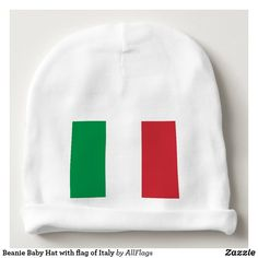 Beanie Baby Hat with flag of Italy 40f318453147