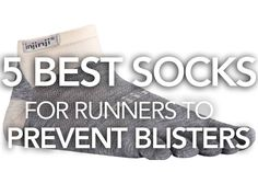 When I first started running I would get blisters on the front of my toes (just below the nail) and at the top of my toes (it was a double-whammy and it hurt!). I thought well maybe I am running too much or my running form is bad or I need new shoes. I never thought that it was a result of terrible socks.  So I went through the process to address those issues by researching running form, evaluating my running lengths/training plan and my shoes.