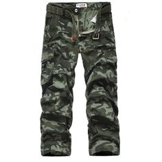 Mens Outdoor Camouflage Pants Fashion Vintage Trousers Casual Cargo Camo Pants - Banggood Mobile