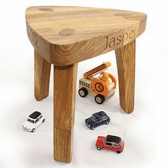 Super Personalised Childs Wooden Stools Machost Co Dining Chair Design Ideas Machostcouk